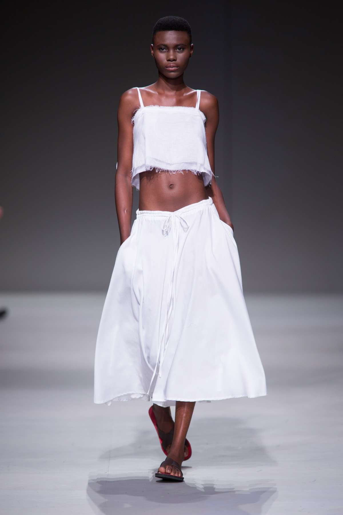 Lunar Linen Crop Top and Culottes