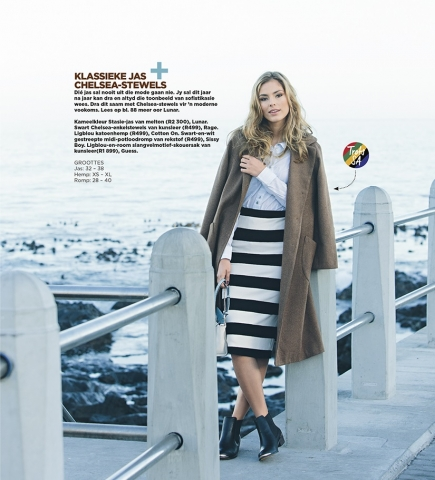 Sarie Magazine Fashion Editorial